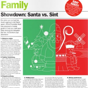 Showdown: Santa vs. Sint
