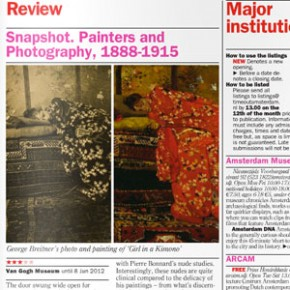 Snapshot: Painters and Photography