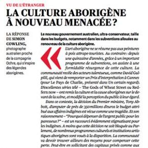 La Culture Aborigène Menacée
